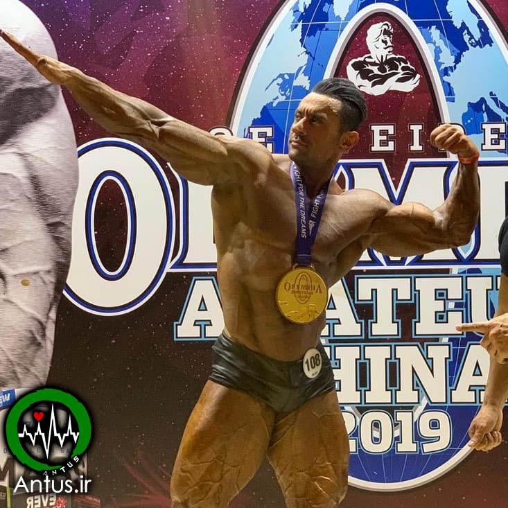 اصغر عباییدر مسابقات مستر المپیا چین 2019