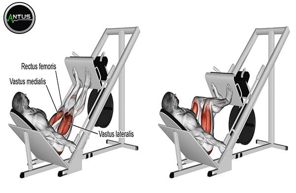 حرکت پرس پا با دستگاه